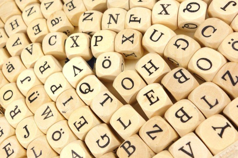 Learn the German alphabet easily