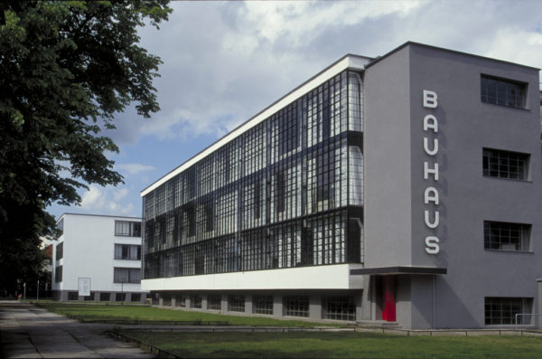 The Bauhaus was a famous art movement in Germany