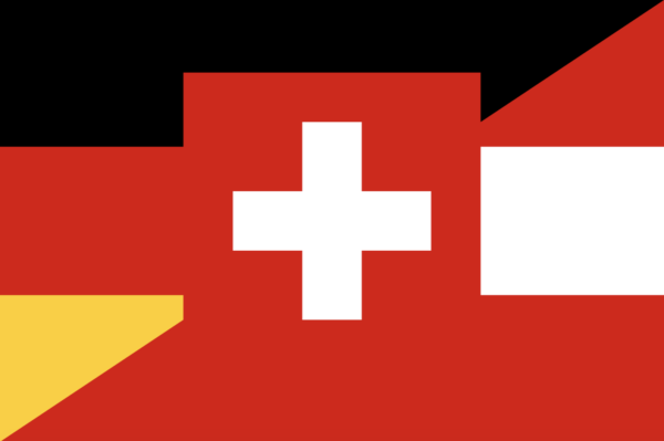 flag depicting different German dialects and regional accents