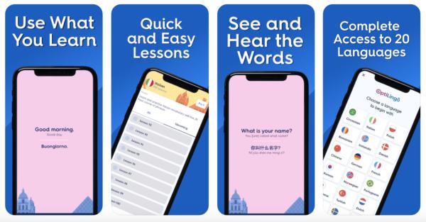 OptiLingo is the best app to learn Danish