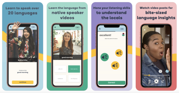 Memrise is a great app to learn danish