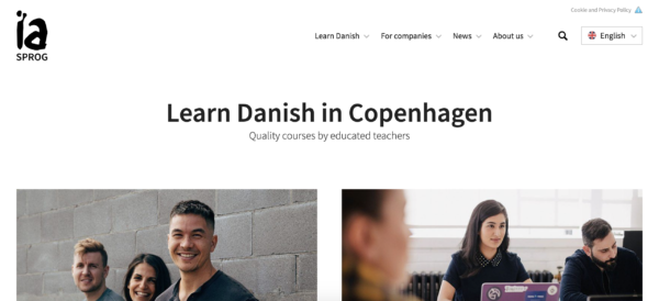 the best online course to learn Danish