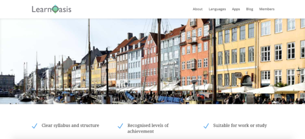 Online class and course to learn Danish