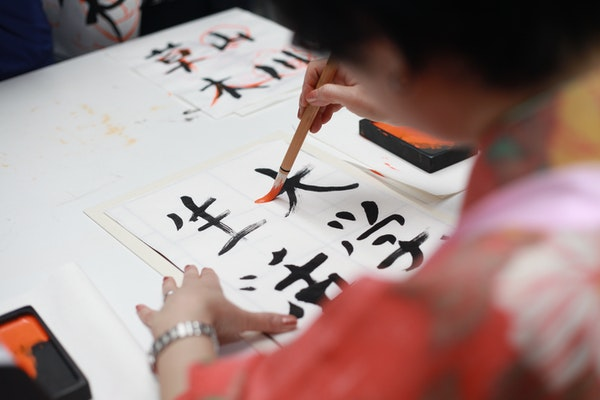 Learn Japanese characters first