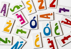 The letters of the Polish alphabet are easy to learn.