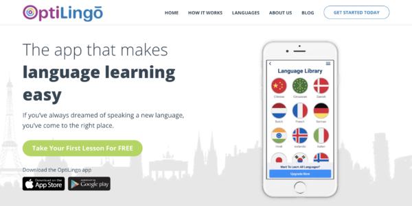 best korean language program is optilingo