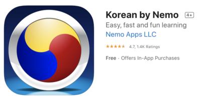 korean by nemo gets you speaking korean