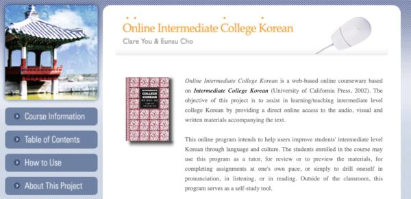 berkeley offers korean language classes