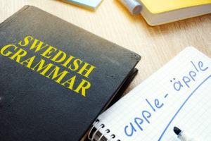 Swedish grammar