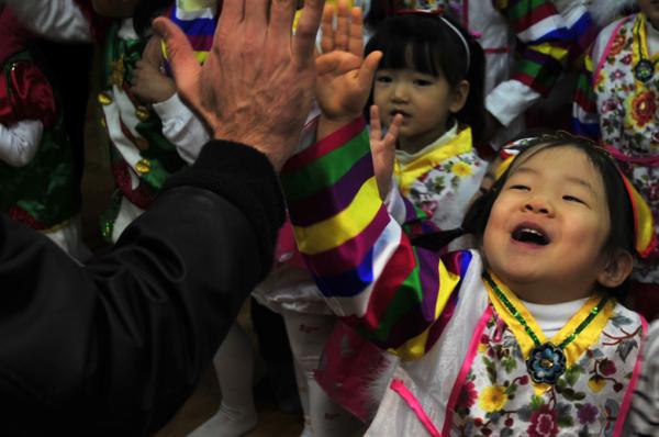 Korean holidays like children's day are very sweet.
