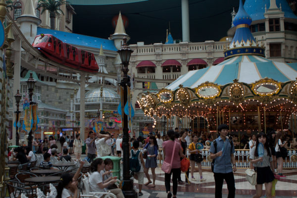 lotte world is a great attraction for children and adults alike