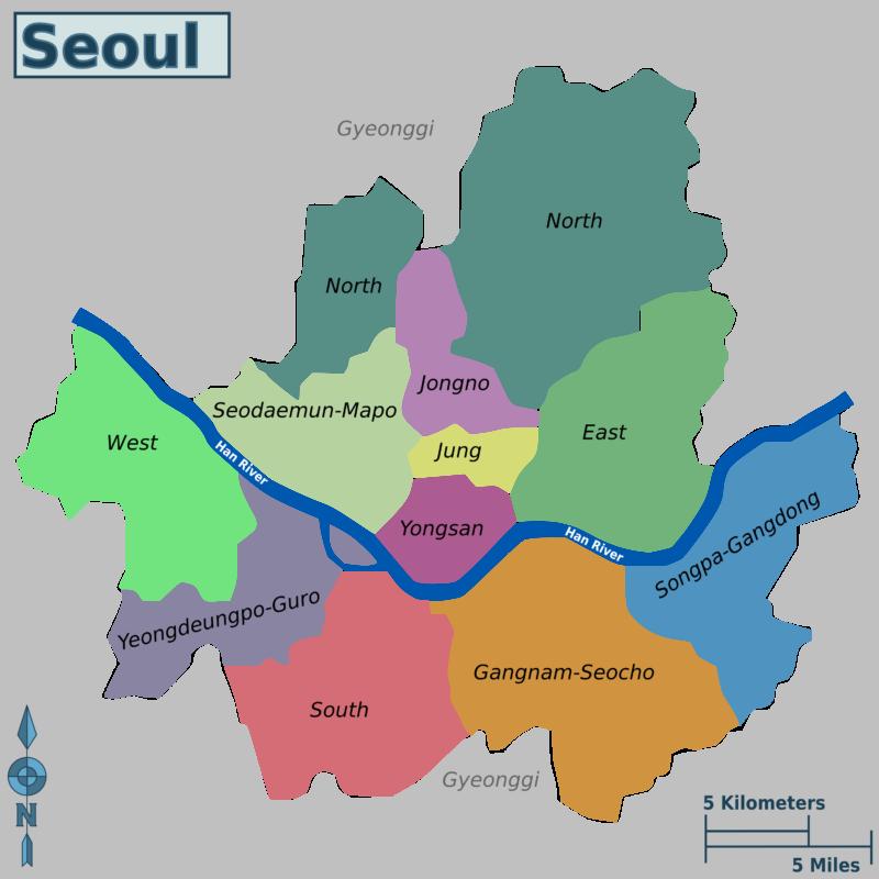 seoul districts