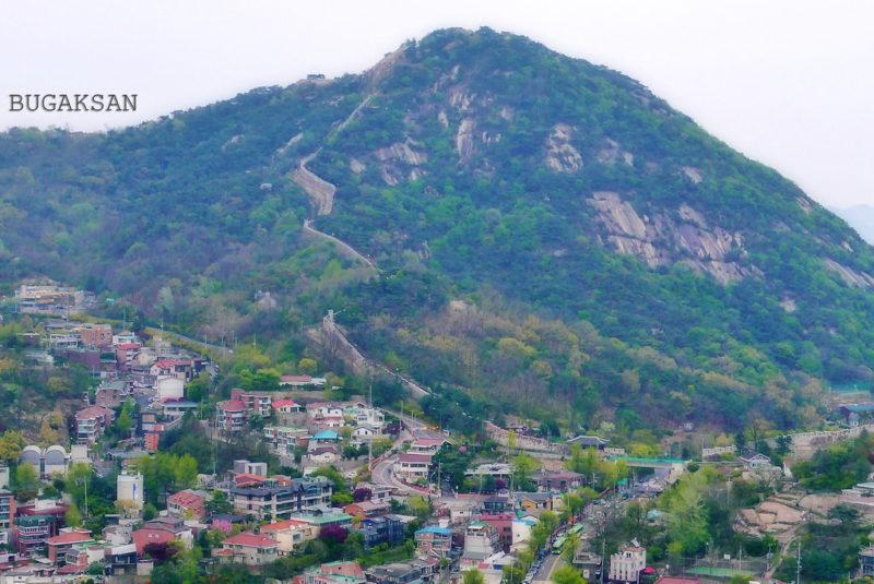 visit the bugaksan wall when you're exploring korean nightlife