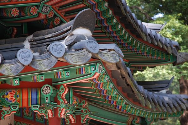 Changdeokgung palace in one of the most beautiful attractions of south korea