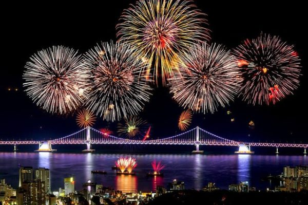 Lotte World has many fireworks to start your Seoul nightlife experience