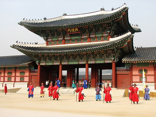 Gyeongbokgung palace is one of the attractions in south korea