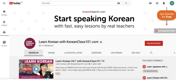 Koreanclass101 is a Youtube channel but it can help you learn how to read Korean