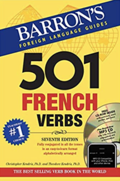 learn about french verbs from this book