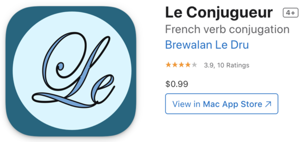 Translate and conjugate French with apps