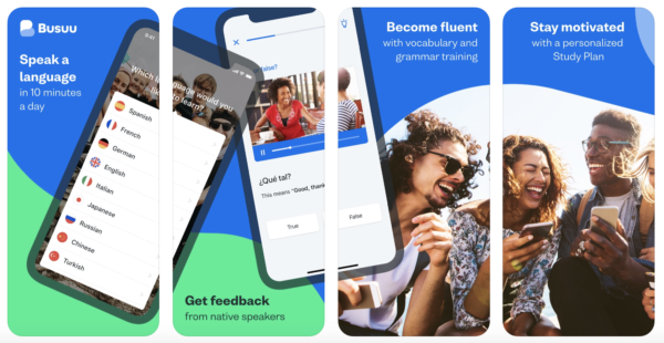 Learn French easily with a mobile app