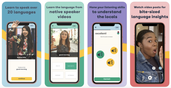 learn a language with the best app