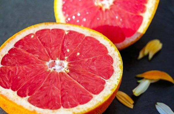 Grapefruit are not just healthy, its also one of the most beautiful words in French