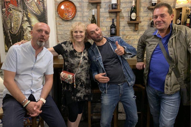 Swedish family at the bar