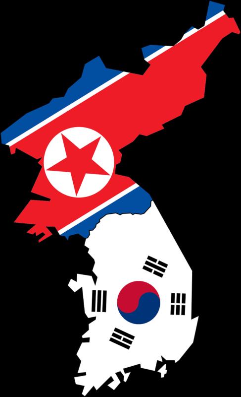 Korean is spoken in North Korea and South Korea