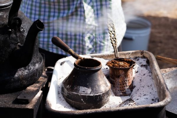 Learning Turkish is easy, especially with some nice Turkish coffee