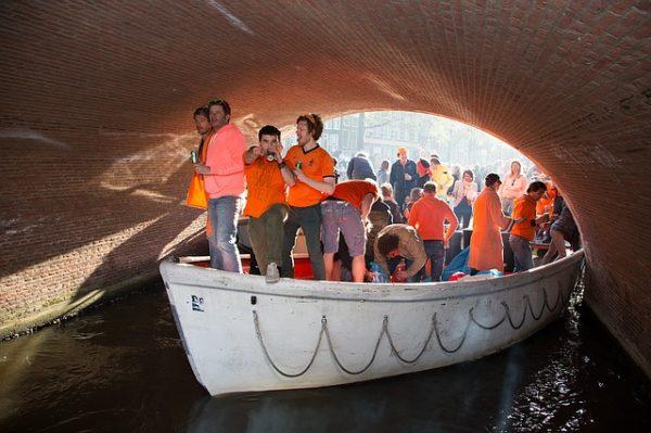 the Dutch love celebrating Kingsday