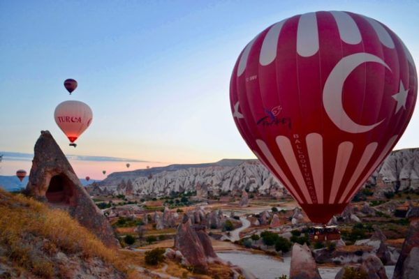 Let your Turkish knowledge take off like these balloons